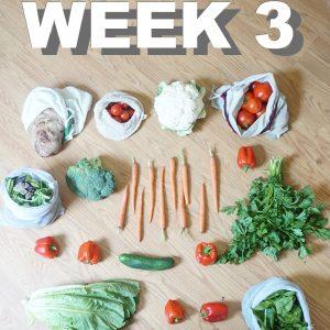 Meal Prep Week Three
