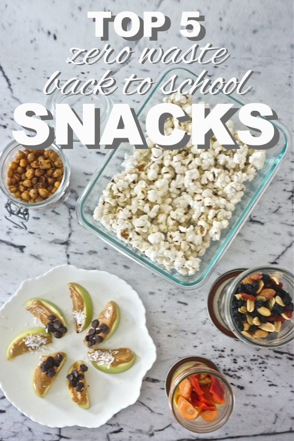 My Top 5: Zero Waste, Back to School Snacks