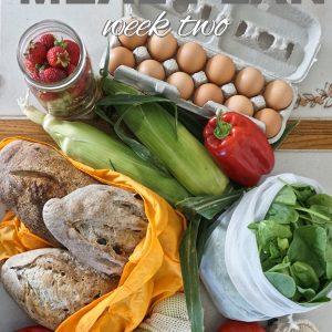 Zero Waste Meal Plan: Week Two