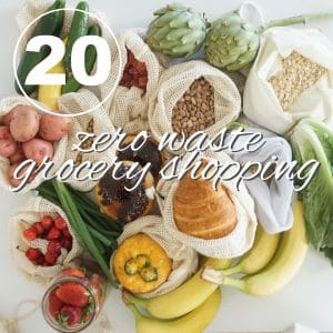 Zero Waste Challenge Day 20: Grocery Shopping