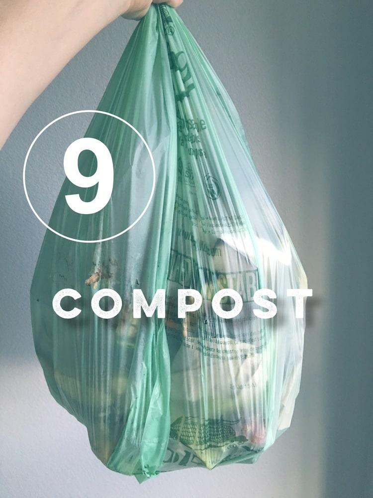Zero Waste Challenge Day 9: Compost