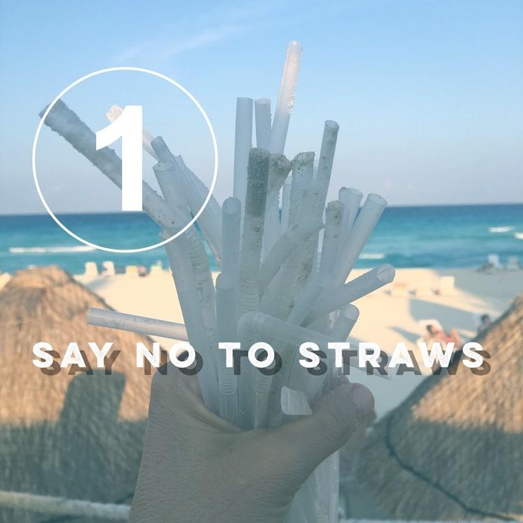 Zero Waste Challenge Day 1: Say No to Straws