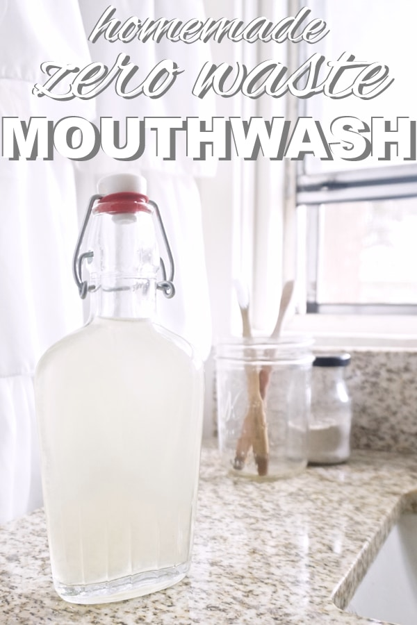 Homemade, Zero Waste Mouthwash