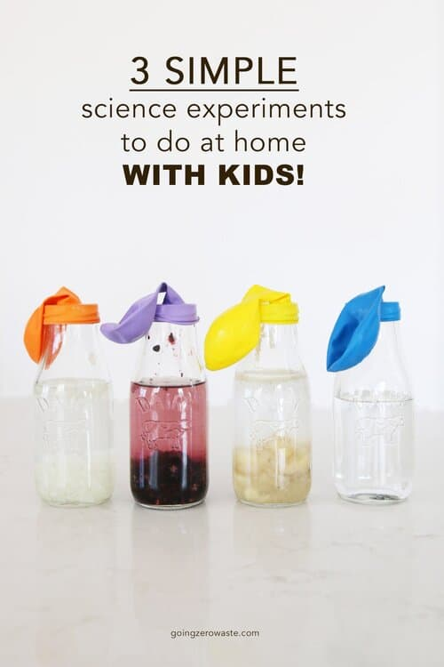 3 Simple Sustainability Science Experiments To Do At Home With Kids, Tracking Food Waste from www.goingzerowaste.com #zerowaste #foodwaste #scienceexperiements #kids #science #scienceproject #zerowaste #ecofriendly