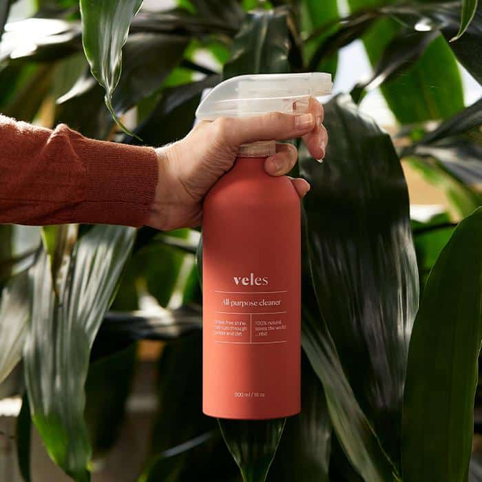 organic, all natural, eco friendly  veles zero waste cleaning product made from food waste