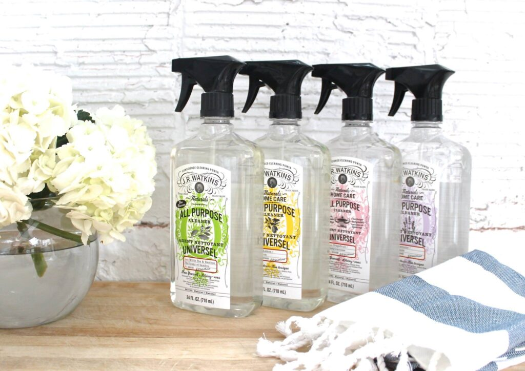 all purpose organic, all natural, eco friendly  cleaner from JR Watkins