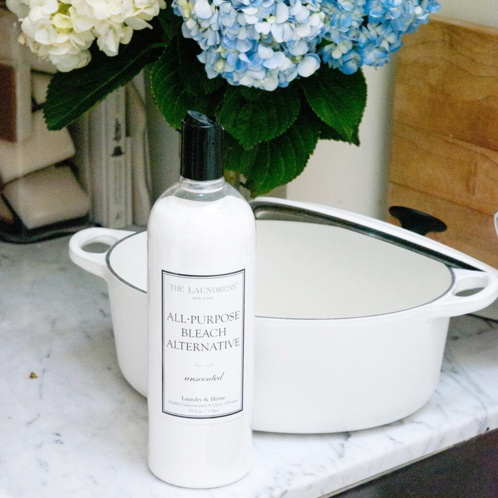the laundress organic, all natural, eco friendly all purpose bleach alternative