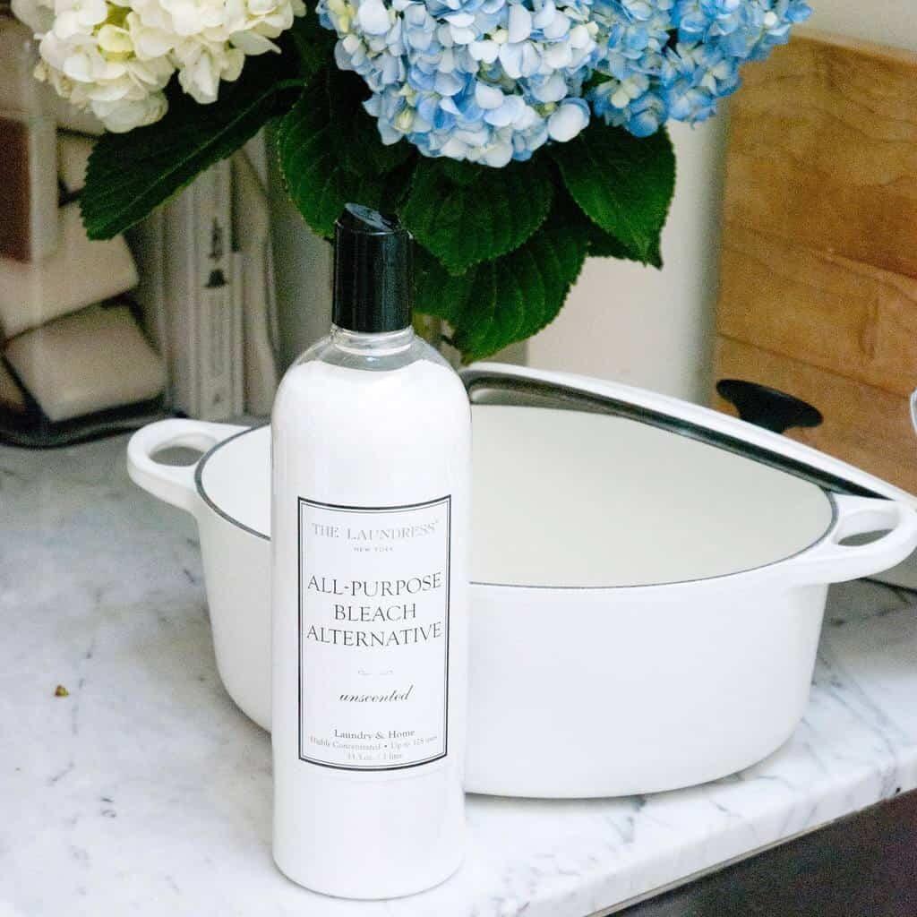 the laundress organic, all natural, eco friendly  all purpose bleach alternative
