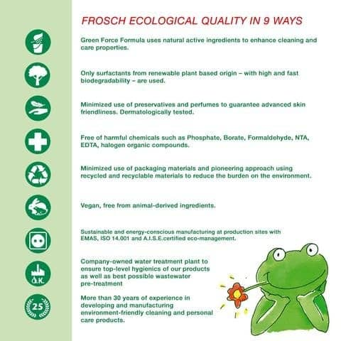 frosch ecological quality pledge