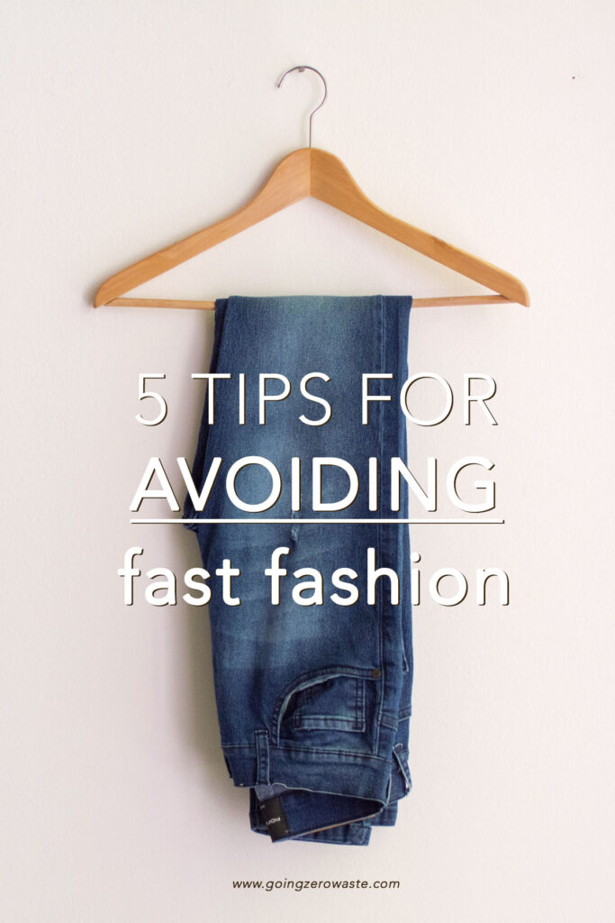 What is fast fashion? The term 'fast fashion' has become quite the buzz word these last few years, so in this post, I'm going to be taking a look at the history of the term, where it came from, what it means, how you can avoid it, and why you should. from www.goingzerowaste.com #zerowaste #fastfashion #ethicalfashion #sustainablefashion #fashion #ecofriendly #gogreen #sustainability