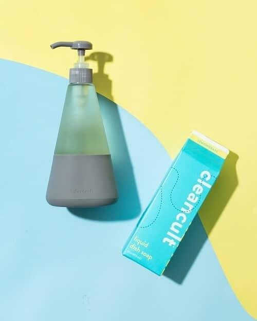 organic, all natural, eco friendly clean cult liquid dish soap