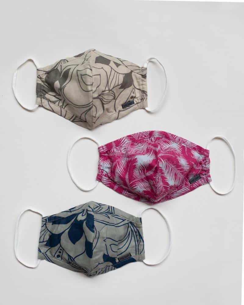 united by blue organic cotton face masks