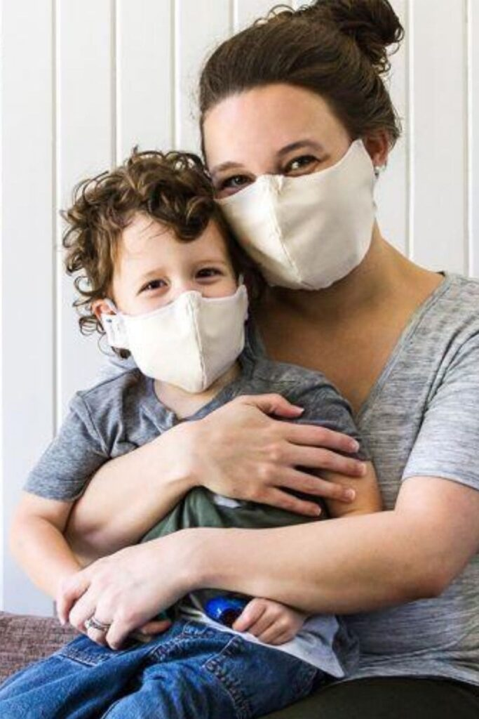 natural home futon shop washable face masks