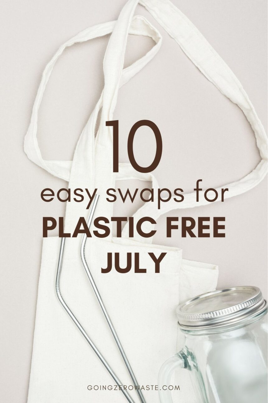 10 Easy Swaps for Plastic Free July